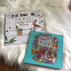 Other - ADULT COLORING BOOK BUNDLE OF 2-NWT